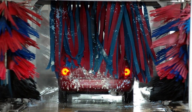 Black Automatic Car Wash